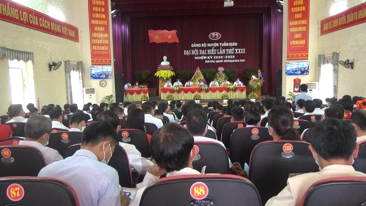 Đại hội đại biểu Đảng bộ huyện Tuần Giáo lần thứ XXIII, nhiệm kỳ 2020 – 2025